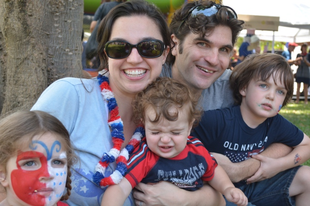 We were able to attend a wonderful 4th of July Picnic